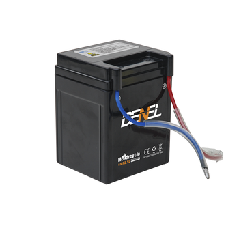 Motorcycle battery 6mf2.5l for yamaha motorcycles 12V 2.5ah