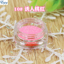 1/128(0.2mm) New Pure peach color Nail Glitter Nail Art Glitter Polish Matte Glitter Powder Dust,free shipping #10