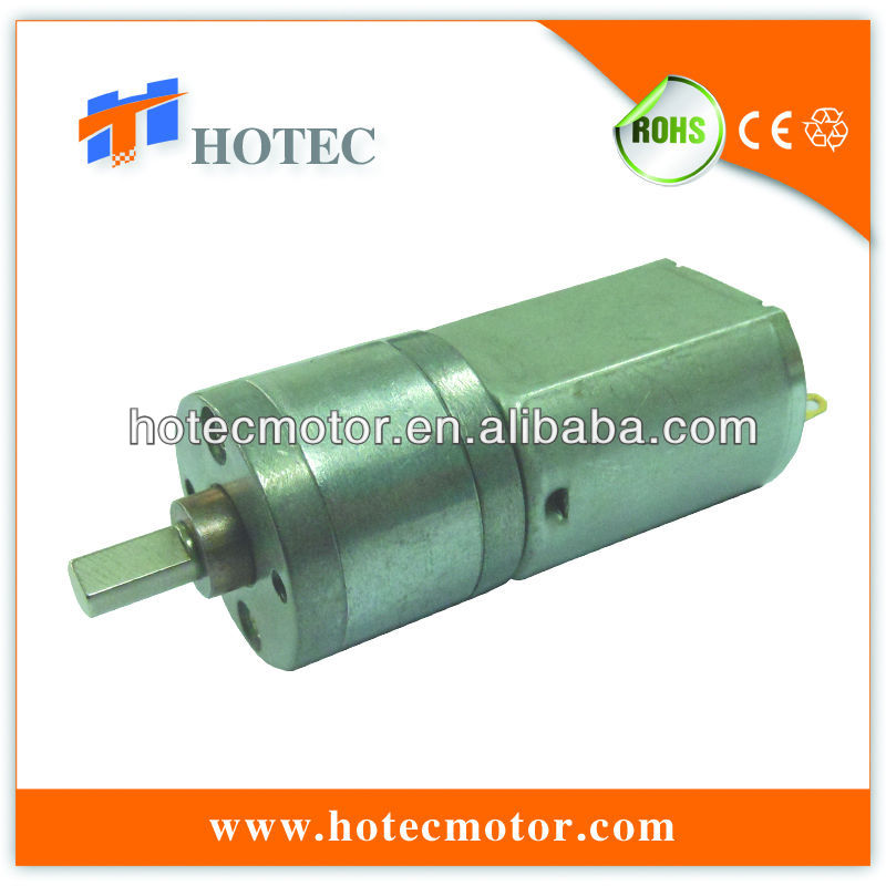 linline shaft metal gearbox 24V DC motor with gear reduction 20mm diameter