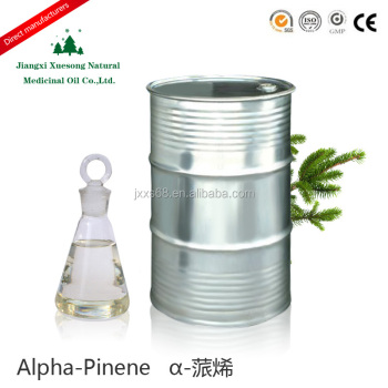 Factory sales alpha pinene used for synthetic lubricants with best price