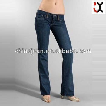 aab2a4212d6c8 Fashion Low Waisted Jeans Women 100% Cotton Plus Size Jeans Jxl20181 ...
