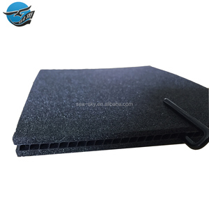 Black 1.22*2.44 3mm 4mm 5mm reusable factory price anti uv pp flex hollow coroplast board with eva foam sheet for division
