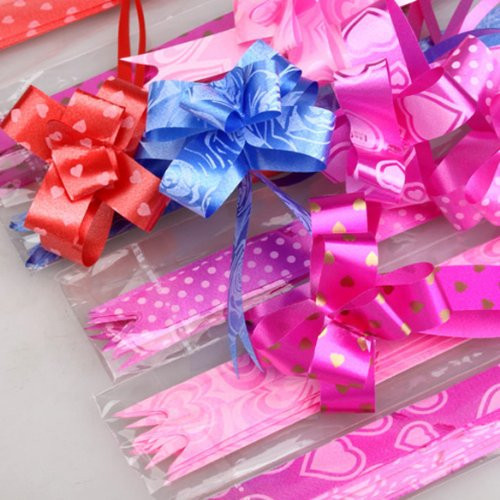 2019 Wholesale Pull String Bows Instant Bow Ribbon Gift