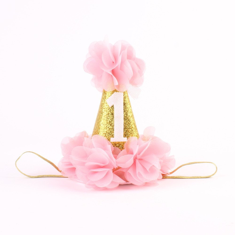 Get Quotations Mini 1st Birthday Hat For First Baby Girl One Decorations