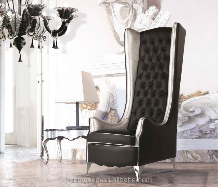 Living Room Furniture Manufacturers leather king throne chair luxury living room furniture commercial