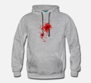 Cool custom hunting street wear printing oversize men logo hoodie