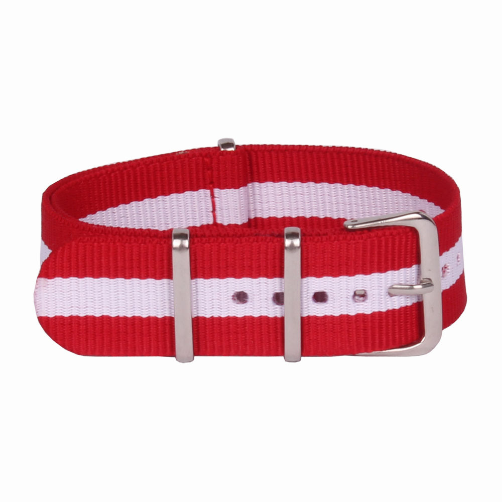 Hot ! Retail - 1pcs High quality 22MM Nylon Watch band NATO waterproof watch strap fashion wach band - 64 color available