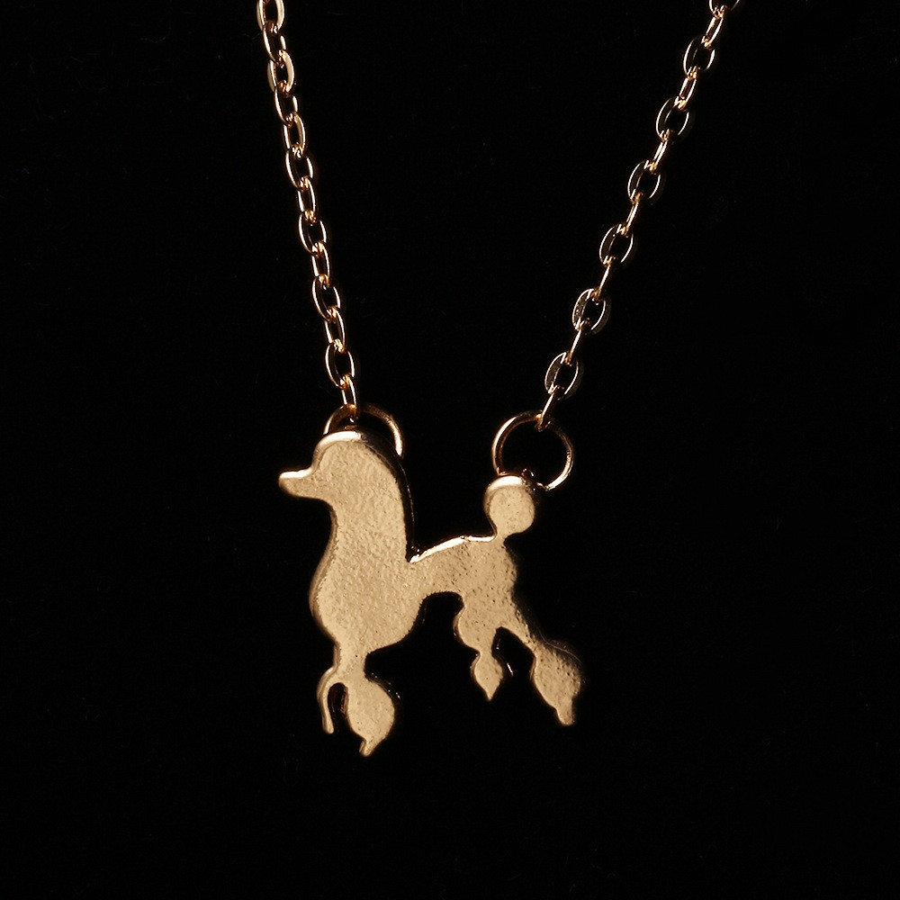 Origami Hollow-out Squirrel Frame Charm Pendant Necklace In Gold / Silver Tone