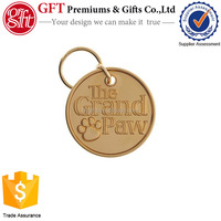 customized! hot sell blank metal round dog tag