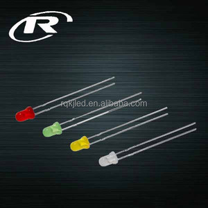 3mm round diffused led diode red blue green white cheap price