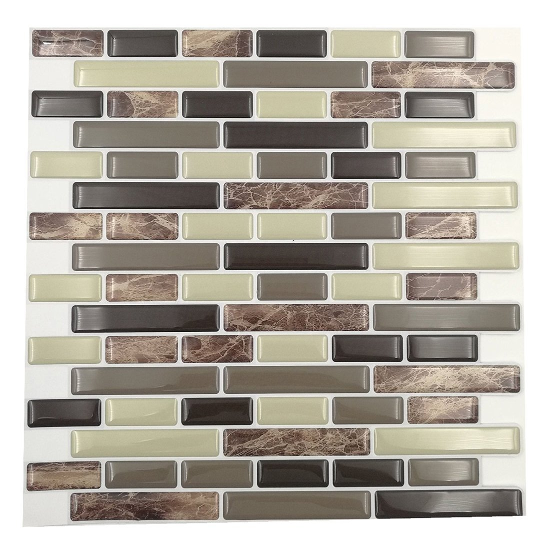 Cheap bal wall tile adhesive find bal wall tile adhesive deals on get quotations cocotik peel and stick tile 10x10 self adhesive 3d wall tile pack dailygadgetfo Choice Image