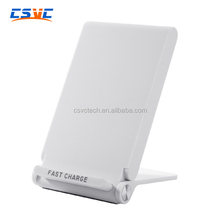 Compatible with All QI Devices 3 Coils Desktop Wireless FAST Charger FC600