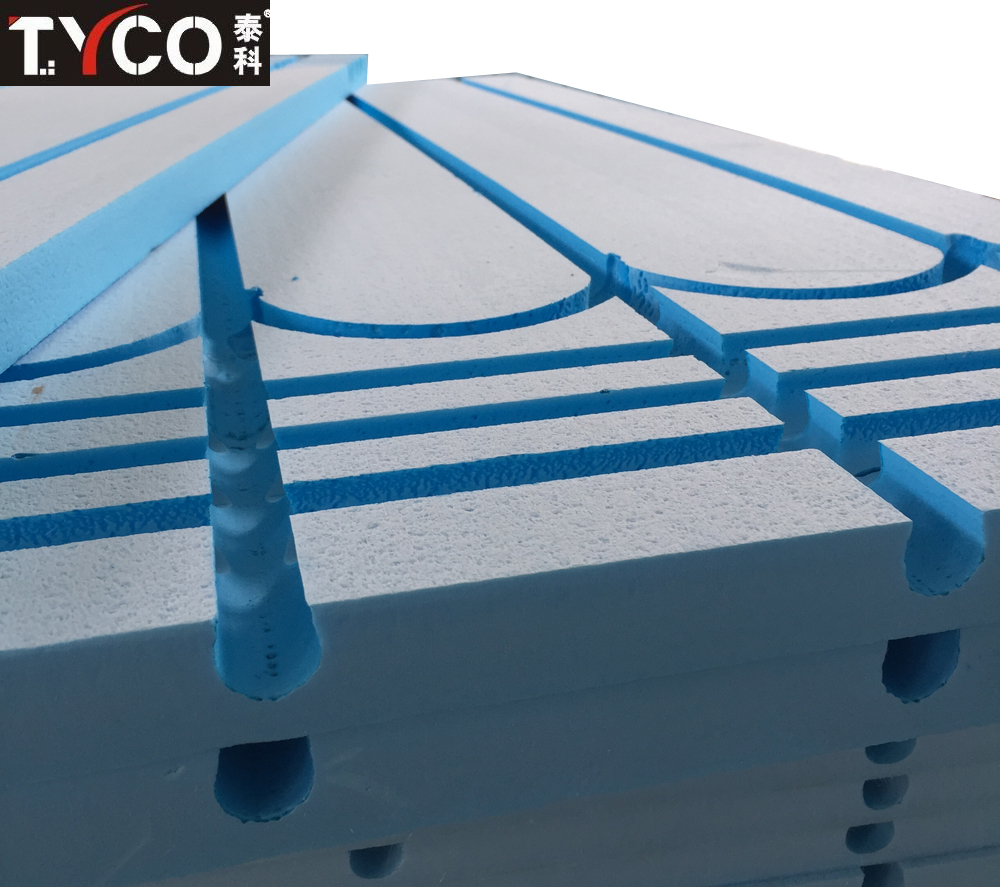 Hydronic Radiant Floor Heating Panels In Floor Radiant Heat Systems ...