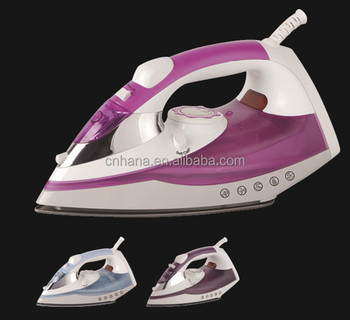 Anti-drip Self cleaning Dry Spray Vertical Steam Automatically close non-stick coated stainless steel Burst Multi-Function iron
