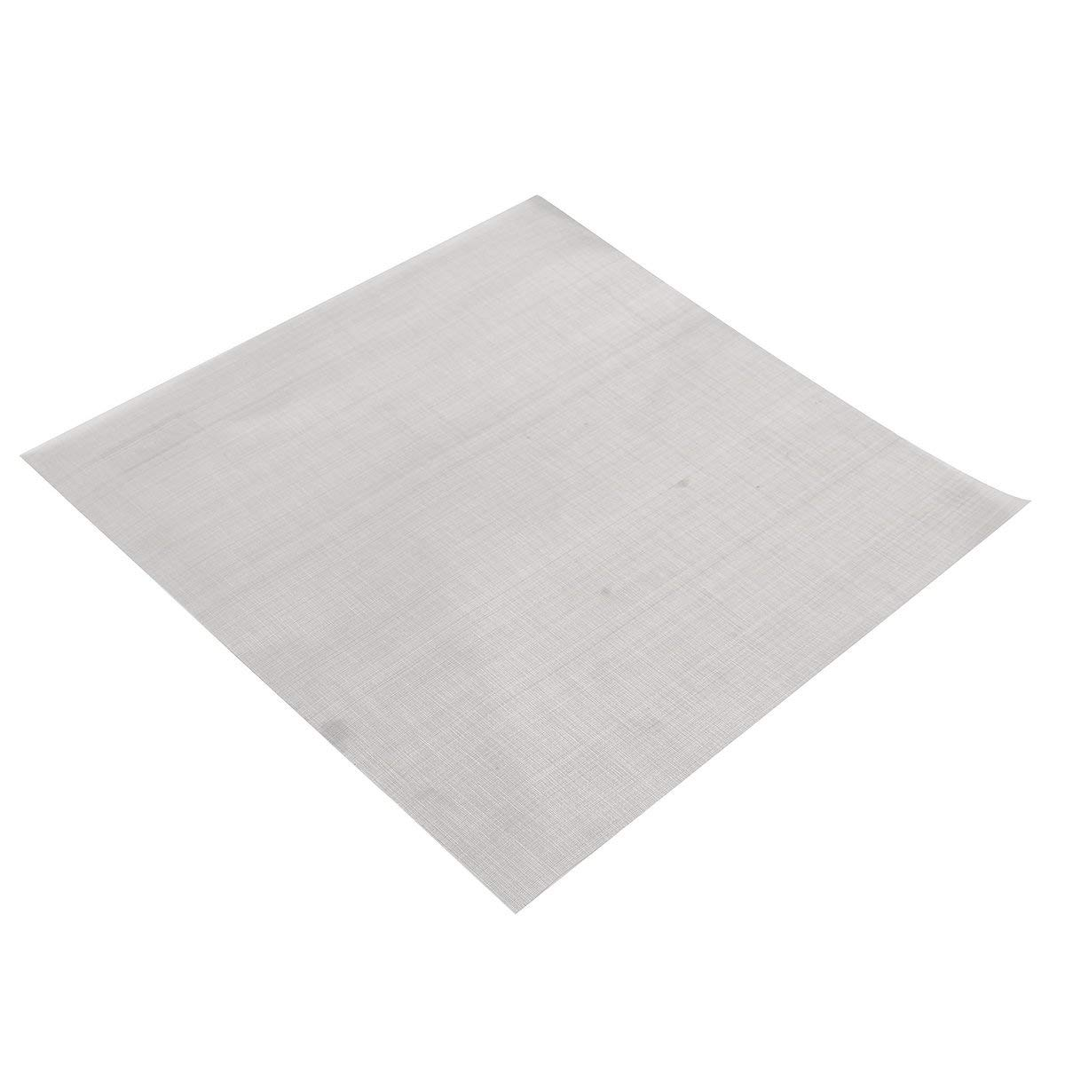 25.4x25.4cm Woven Wire 304 Stainless Steel Filtration Grill Sheet Filter 100 - Raw Materials Mesh & Wire Cloth - 1 x 40T Brush Cutter Blade