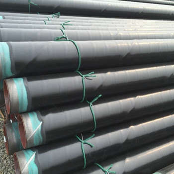 3PE coated api5l SSAW steel pipes/tubes x42 x52 x60