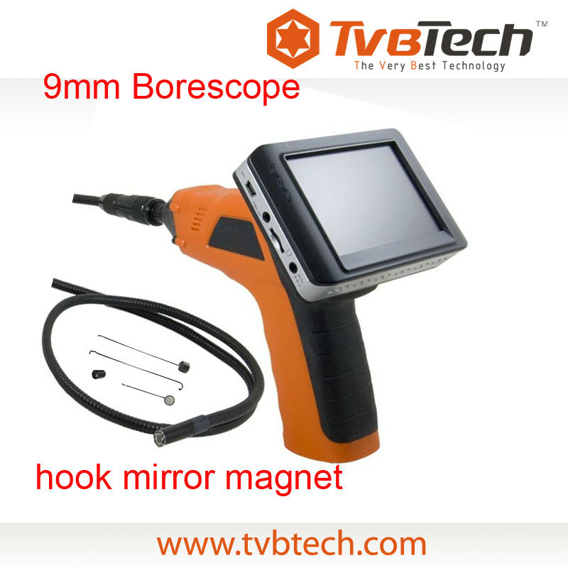 Semi rigid endoscope borescope camera inspection scope