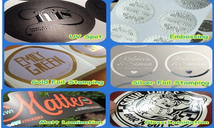 Custom vinyl sticker printing with free sample wholesale gloss bumper sticker manufacturercustom stickers