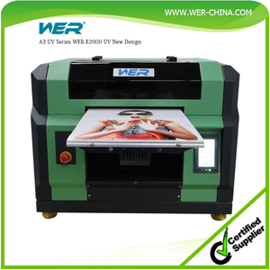 A3 lowest price uv flatbed printer for phone case ,pen ,CD and acrylic