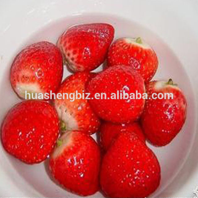 Canned Strawberry In Syrup - Tin Package or Glass Jar Package Canned Fruit