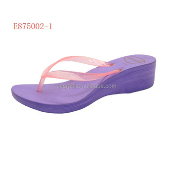 cd34283053276 Girls Eva High Heel Slippers Beach Sandals - Buy Girls High Heel ...