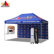 Grosir Tahan Air 10x15ft Baja Popup Canopy Portable Gazebo Luar Ruangan Tahan Air