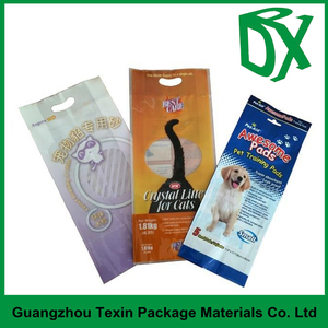 printed resealbale header moistureproof plastic bags for fireworks packing