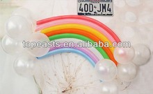 Rainbow Balloons 100% nature latex balloon round shape latex balloon every size available color
