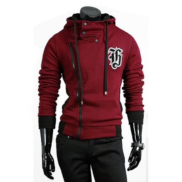 bfcdbb2e372b Get Quotations · 2015 New Design Brand Hoodies Men Autumn Winter Sport Suit  Zipper Leisure Mens Hoodie Fashion Sweatshirts