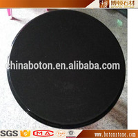 Yunfu stone quartz dining table top / quartz round table top