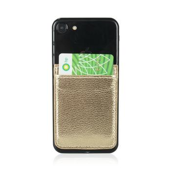 Phone Card Holder Adhesive Stick-on Credit Card Wallet Phone Case Pouch Sleeve Pocket for Most of Smartphones