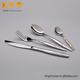 Elegant stainless steel cutlery set restaurant hotel tableware spoons forks knives