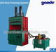 factory supply waste paper straw baling press machine