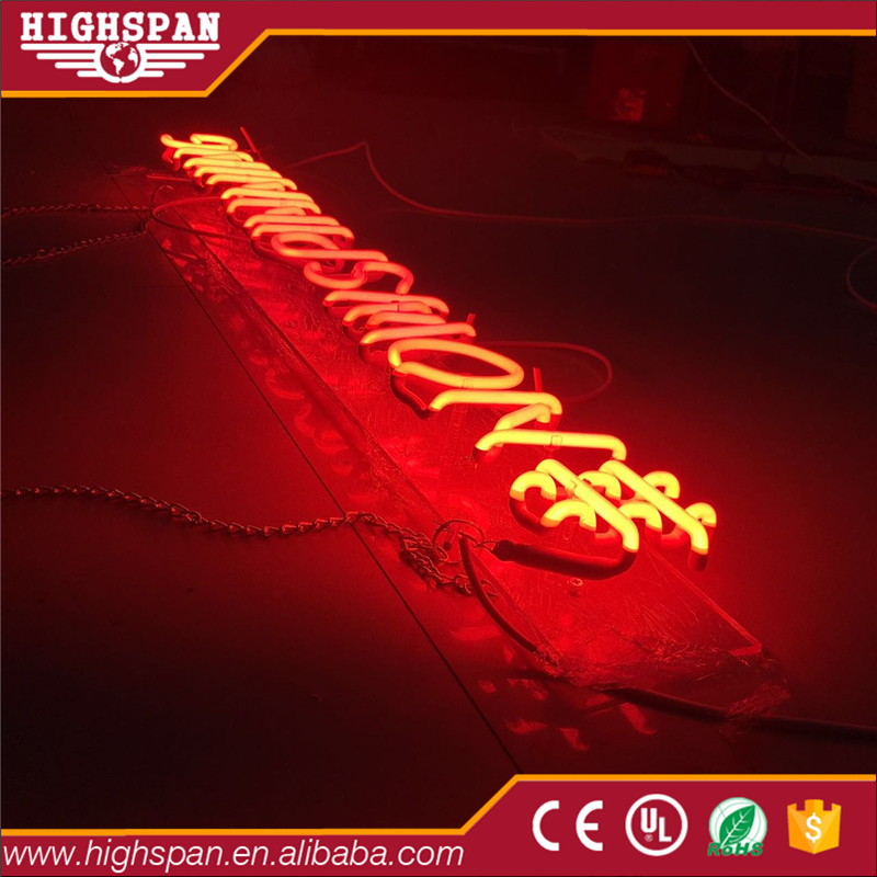 China Made changeable neon lighting letter sign budweiser beer signs