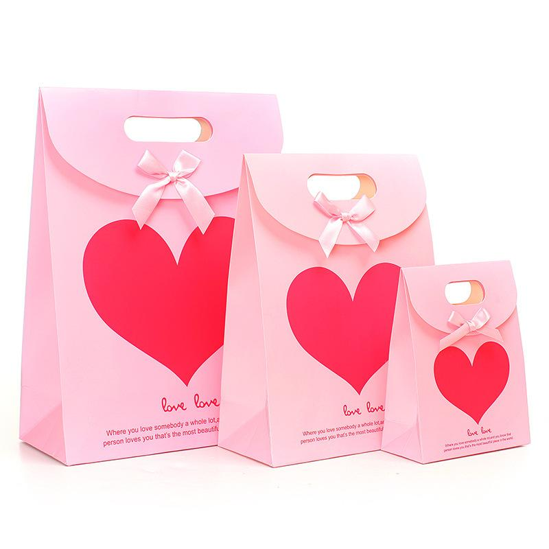Whole Wedding Paper Bag Little Gift Kraft Bags Product On Alibaba