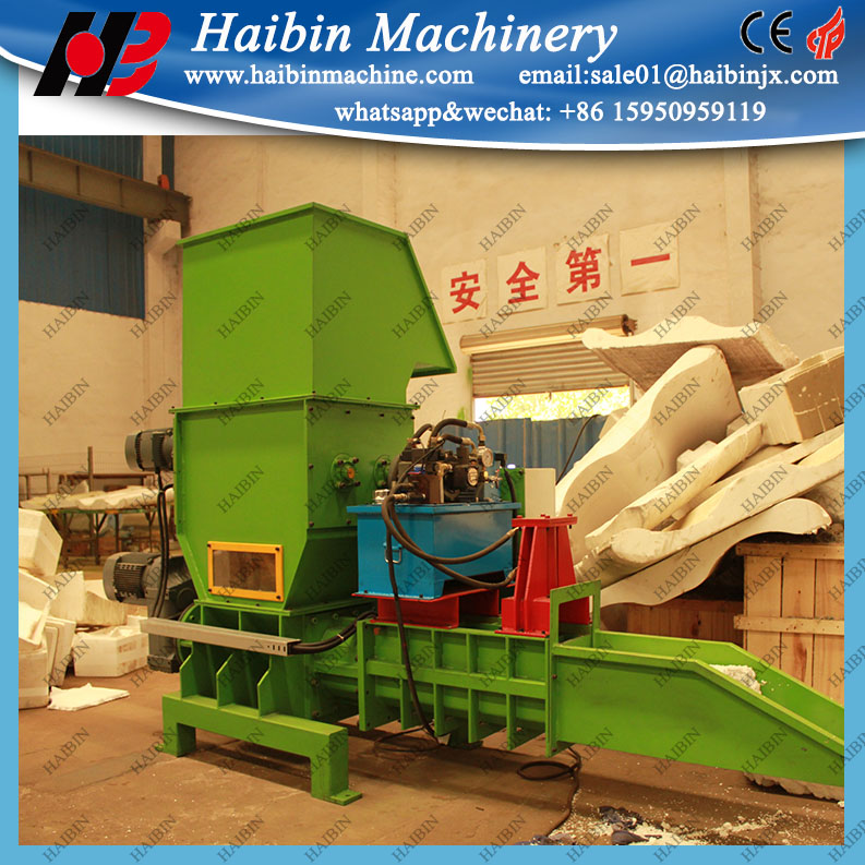 Recycled eps foam melted system, small EPS plastic compactor