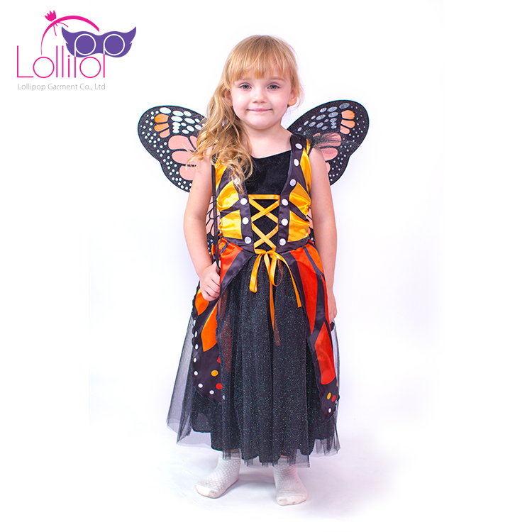 Factory direct supply Carnival butterfly costumes for kids,butterfly wings costume