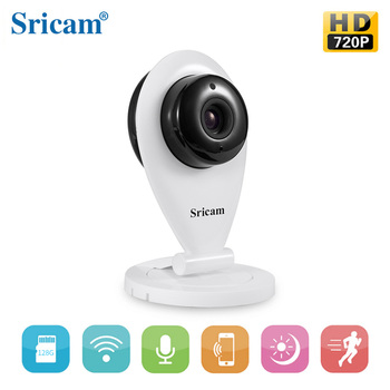 Sricam Sp009 P2p Wireless External Camera For Android Phone 720p 1 0  Megapixel Ir-cut 4g Security Camera Free App Controlled - Buy 4g Security