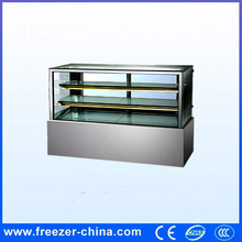 hot selling right angle chiller showcase for cake with ce/iso certificate