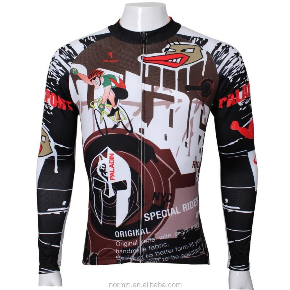Outdoor funny design bike wear specialized cycling jersey