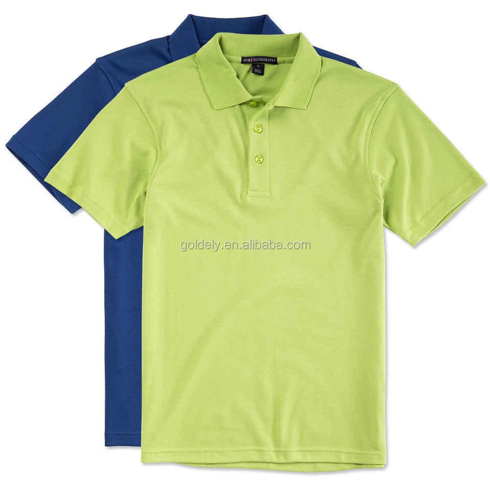 Color Combination Polo Shirt Design Custom Polo Shirt With