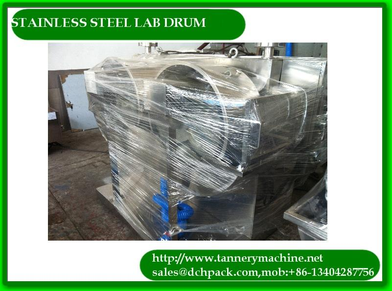 tannery experiment 316 stainless steel drum