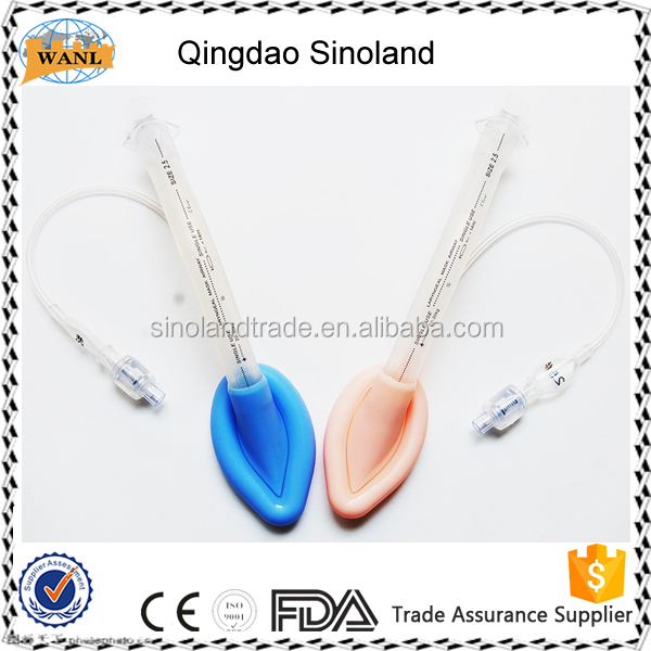CE and FDA certificate Reinforced Reusable Silicone Laryngeal Mask