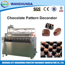 Pattern decorator for chocolate