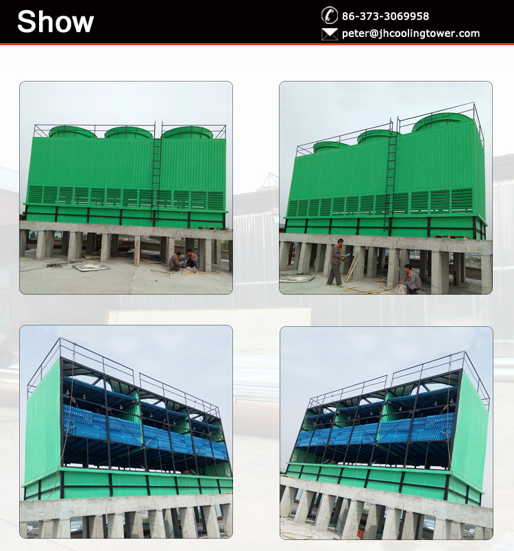 2016 henan cooling tower water cool chiller for water treatment