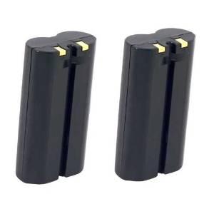 Hitech- 2 Batteries for O'Neil 550039-100, 320-081-122, MICRO FLASH 4T, MF4T, LP3, INTERMEC PB40, PW40 Portable Scanner Barcode Label Printers