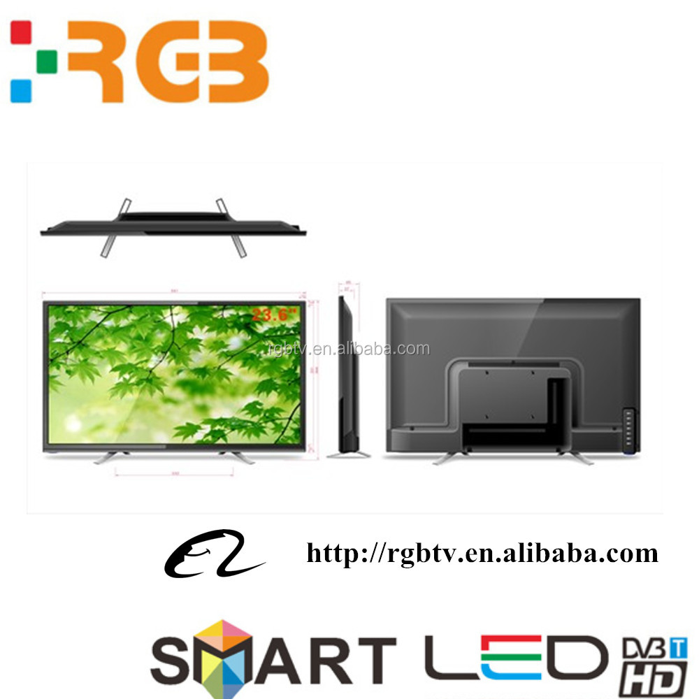 Factory direct 22''24'' inch Television smart size LED HD Full flat TV