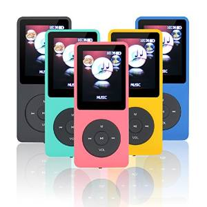 Lonve 8GB Big and Clear Lossless Sound Music MP3 MP4 Player With Expandable MicroSD Slot-Pink