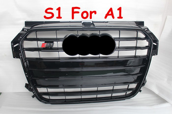 2013up s1 grill a1 grille abs front grille for audi a1. Black Bedroom Furniture Sets. Home Design Ideas