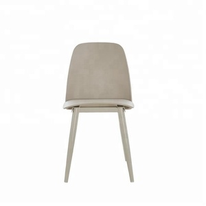 Cheap Dining Chair Specific Use and Plastic Material Metal Leg Chair Plastic